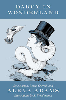 Book cover: Darcy in Wonderland by Alexa Adams