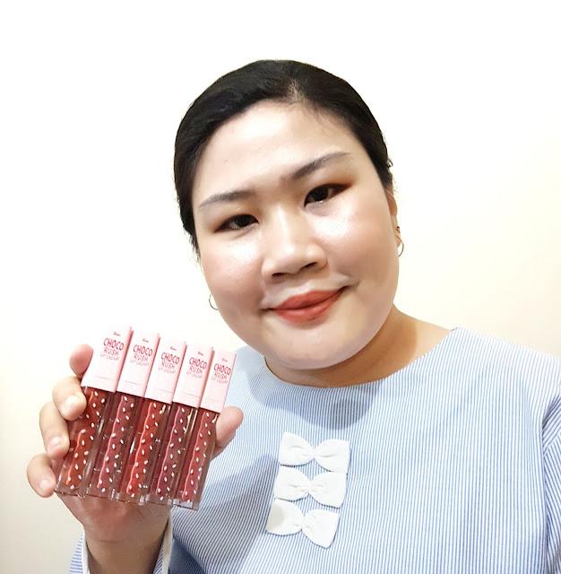 Review Fanbo Choco Rush Lip Cream All Shade
