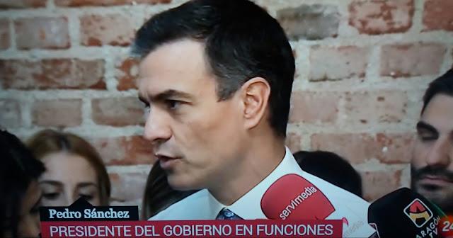 Pedro Sánchez se reúne con colectivos sociales en pro de un Gobierno a la Portuguesa