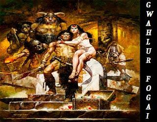 Robert E. Howard Gwahlur fogai Conan novella