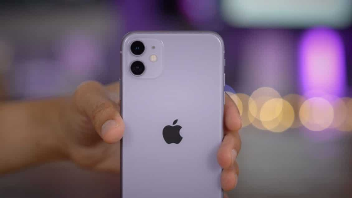 iPhone 11 ... the best-selling cell phone in the first half of 2020