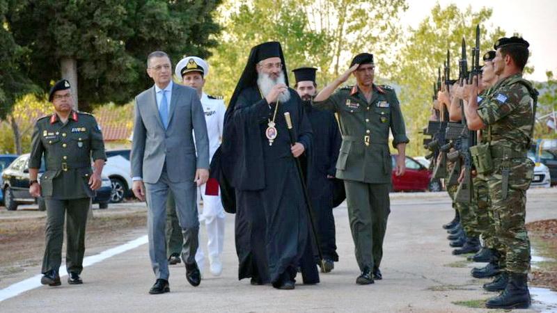 Στην Αλεξανδρούπολη ο Υφυπουργός Εθνικής Άμυνας Αλκιβιάδης Στεφανής