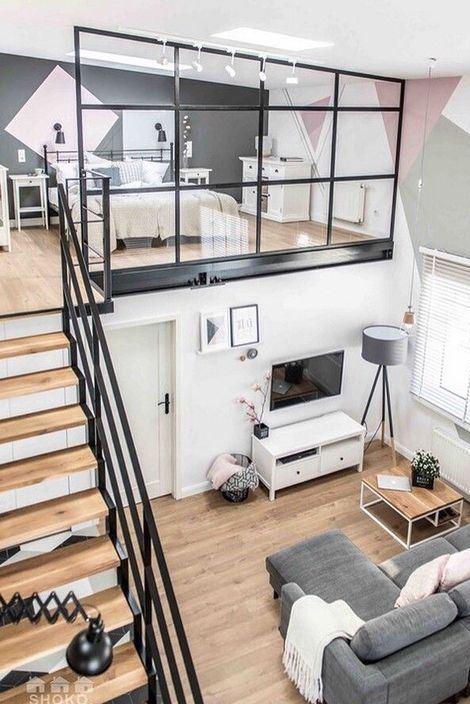 loft apartment design idea
