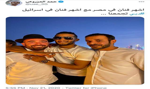 الفنان محمد رمضان يشكر جمهورة بسب عدم دعمه له