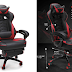 RESPAWN-110 Racing Style Gaming Chair - Reclining Ergonomic Leather Chair with Footrest, Office or Gaming Chair