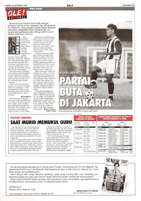 WILAYAH JAWA-BALI PARTAI BUTA DI JAKARTA