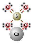 lewis sulfato de calcio