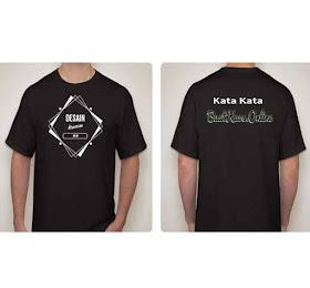 #Buat Kaos #Desain Sendiri   Bahan Katun Lembut Disini.! <price>Rp.65.000</price> <code>custom design</code>