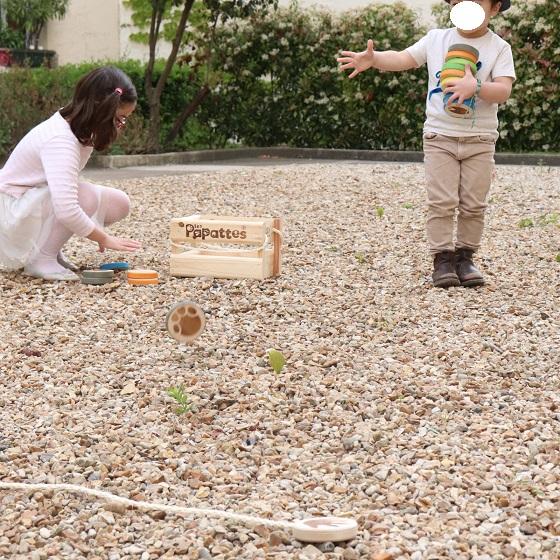 jeu exterieur en bois