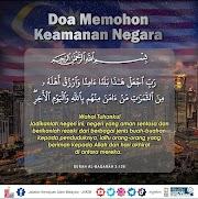 Doa Memohon Keamanan Negara