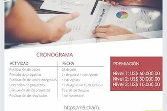 Convocatoria para el concurso de  proyectos de investigación para externos 2019.