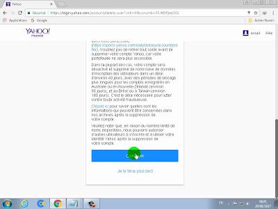 الطريقة السليمة لحذف حساب Yahoo! بشكل نهائي