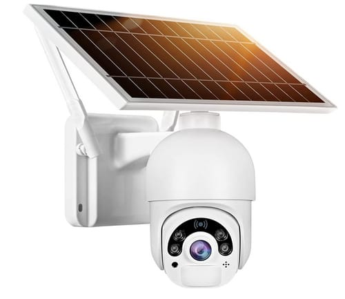 YoLuke Solar Power Outdoor WiFi Camera Security