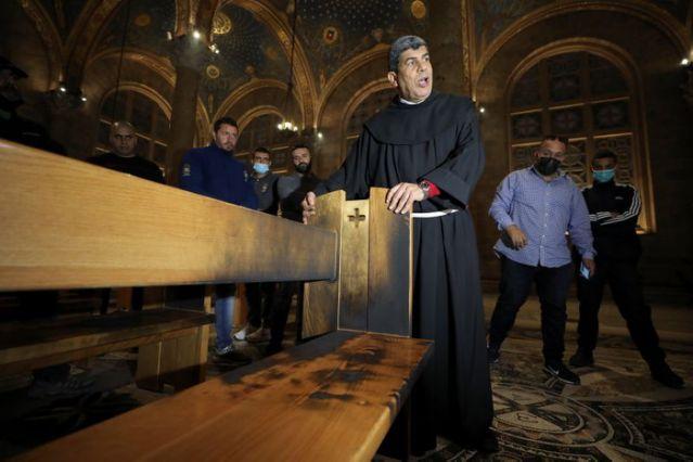 Gereja Dekat Taman Getsemani Jadi Target Serangan Pembakaran