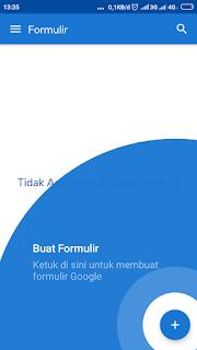 Membuat formulir google online