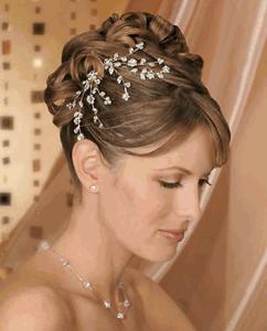 fashion and art trend bridal hair accessories