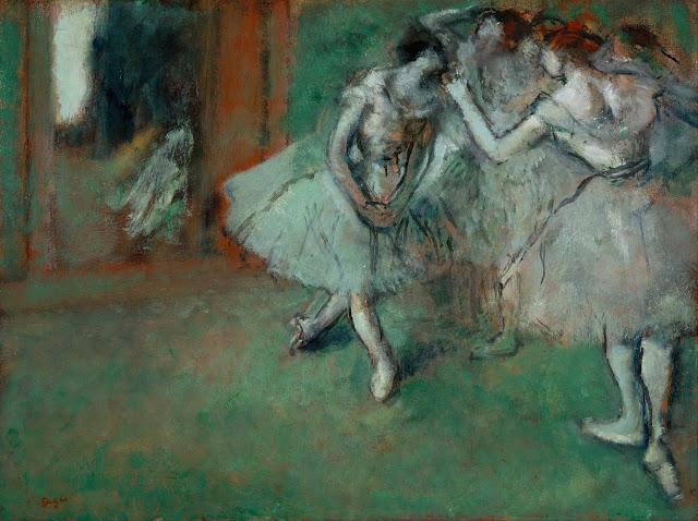 Эдгар Дега - Группа танцовщиц (1890)