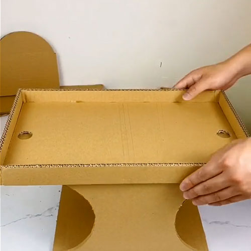 How to Make a Cardboard Soccer Table