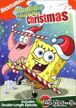 Capa do Filme O Natal Do Bob Esponja