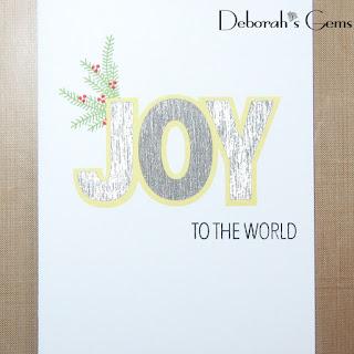 Joy to the World sq - photo by Deborah Frings - Deborah's Gems