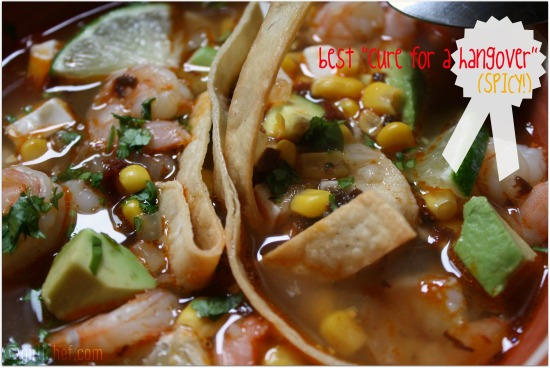 Ten-Minute Shrimp and Tortilla Soup