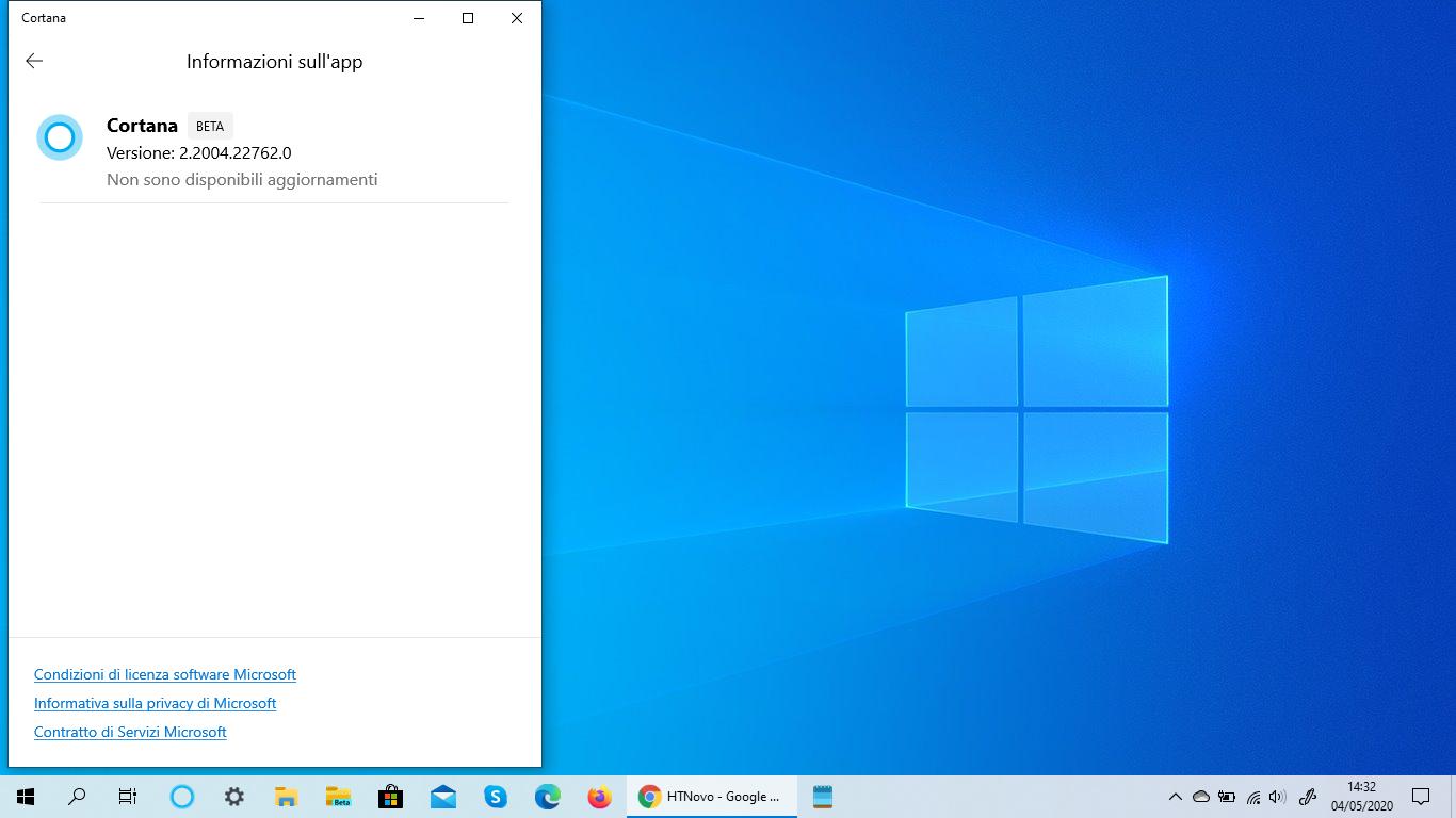 Adesso Cortana si aggiorna direttamente dall'app