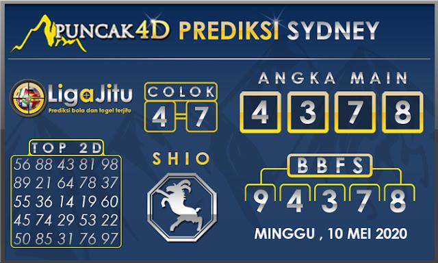 PREDIKSI TOGEL SYDNEY PUNCAK4D 10 MEI 2020