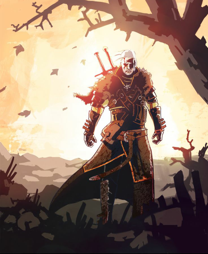 Lord Of Gamers The Witcher 3 Wild Hunt Geralt Of Rivia Artwork