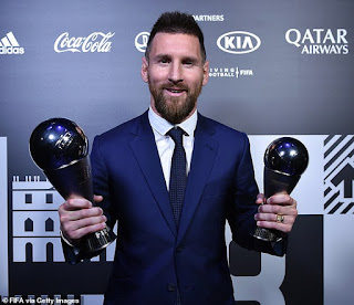 Lionel Messi voted for Sadio Mane as The Best player in the world and did NOT pick Virgil van Dijk in top three