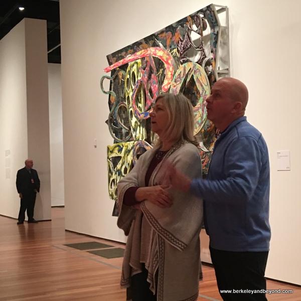 Frank Stella Retrospective at the de Young Museum in San Francisco, California