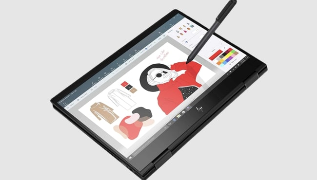 Best HP laptop for making the great paintings: HP Envy x360