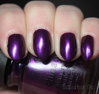 china glaze rebel swatches review purple fiction