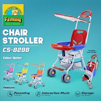 kursi dorong bayi family cs8298 chair stroller