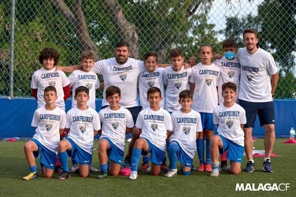 Málaga, el Alevín B se proclama campeón de Liga