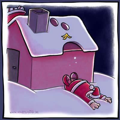Isa's Fotos: Armer Weihnachtsmann...