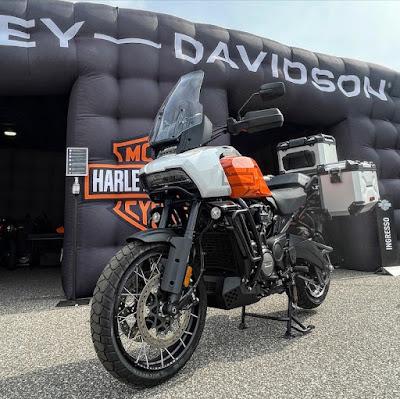 Motor Bike Expo 2021 Harley Davidson Pan America