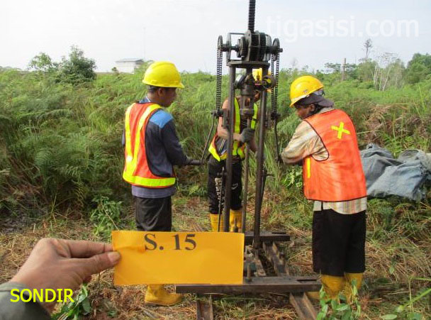 Penyedia Jasa Sondir Boring / Soil Test Banjarmasin, Kalimantan Selatan