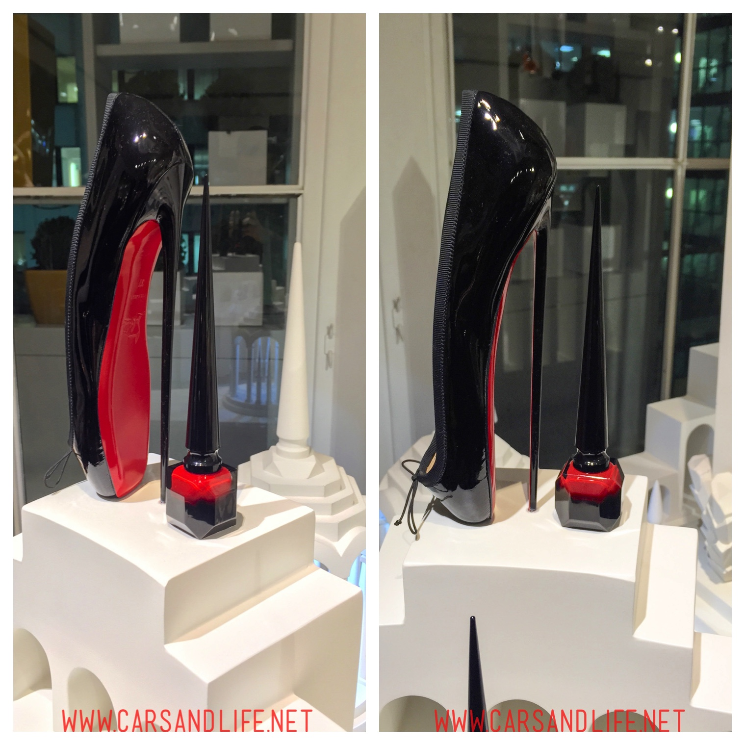 Christian Louboutin 8-inch Ballet Heels from Selfridges