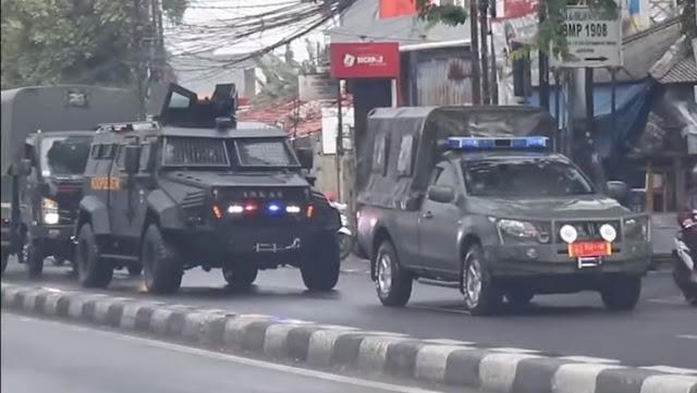 Pasukan Elite Koopsus Datangi Markas FPI, Mabes TNI Sebut Cuma Numpang Lewat