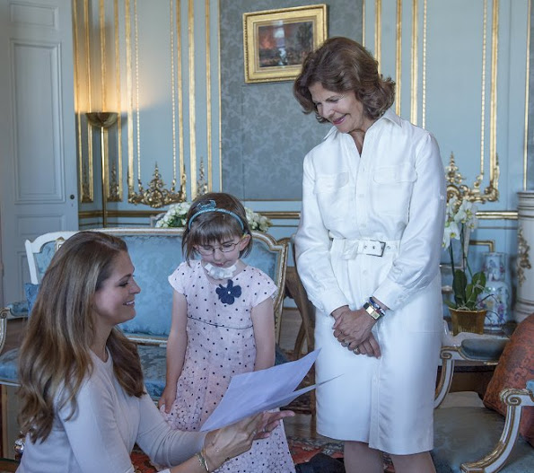 Princess Madeleine is the patron of My Big Day Foundation. Princess Leonore at 'My Big Day' party, style fashions royal