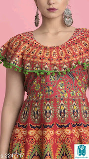 Diva Cotton Printed Women's Kurtis