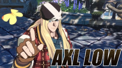 Axl Low en el nuevo trailer de Guilty Gear