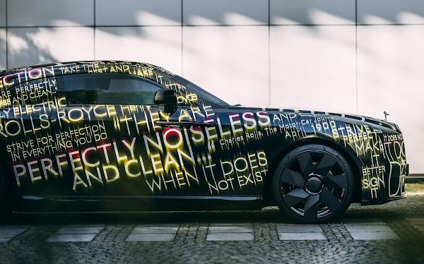 Rolls-Royce Spectre: 1º elétrico da marca chega ao mercado em 2023