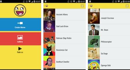 aplikasi membuat meme ringan