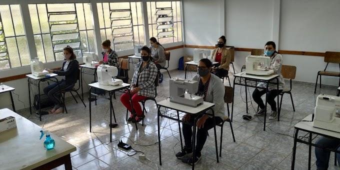 Nova Laranjeiras: Prefeitura anuncia início das aulas de corte e costura