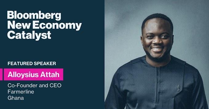Ghanaian Entrepreneur,  Alloysius Attah Named Among Bloomberg's 2021 Catalysts