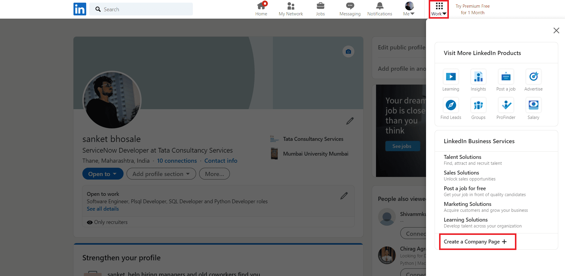 How to add LinkedIn company page