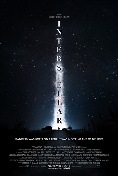 Poster oficial Interstellar