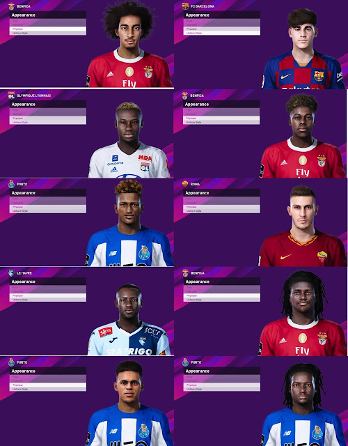 PES 2020 Facepack V6 by SR