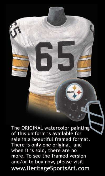 Pittsburgh Steelers Uniform and Team History  4805b7416